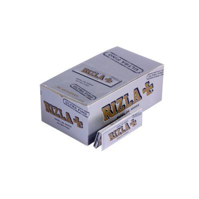 Papel de fumar Rizla Ultrafino Plata
