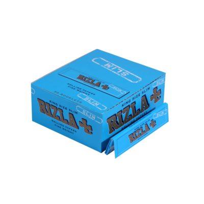 Papel de fumar Rizla King Size Slim Azul