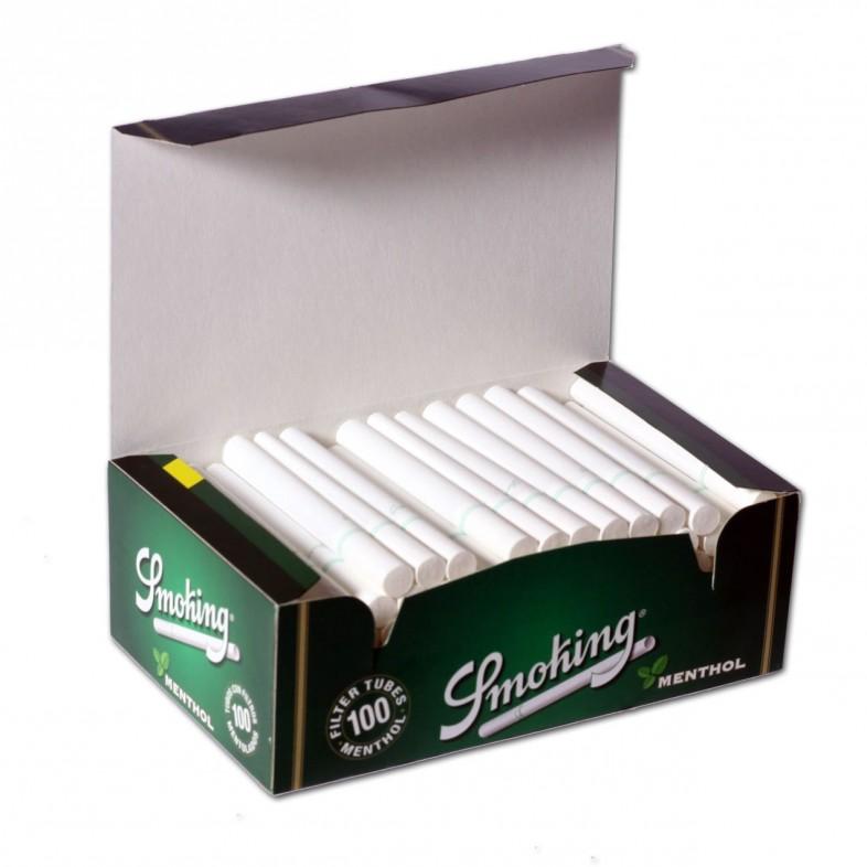 Tubos Smoking Mentol