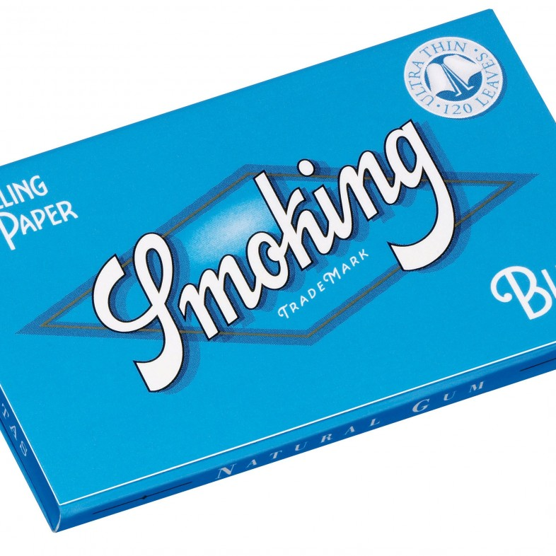 Papel de fumar Smoking Blue Double