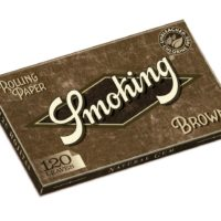 Papel de fumar Smoking Brown Doble