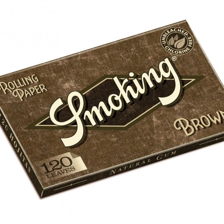 Papel de fumar Smoking Brown Doble