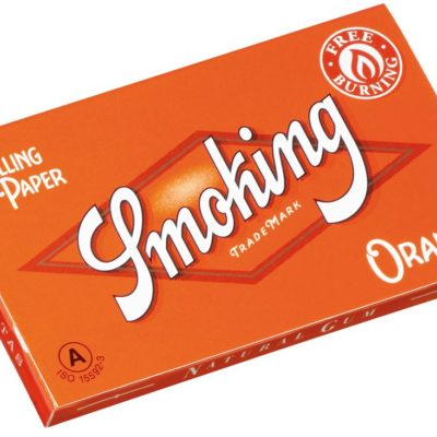 Papel de fumar Smoking Orange Doble