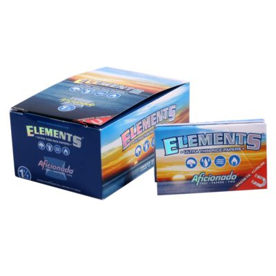 Papel de fumar ELEMENTS AFICIONADO 1.1/4 + TIPS