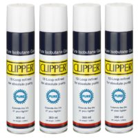 24 botellas gas Clipper pure