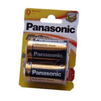 Caja 12 blisters de 2 pilas Panasonic LR20