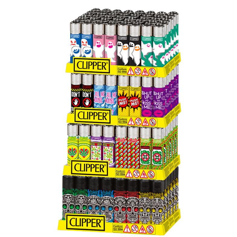 Expositor Clipper decorado Puntos 2017