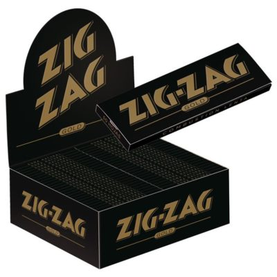 ZIG ZAG GOLD MEDIUM