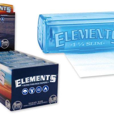 ELEMENTS SLIM ROLLS 5 M PLASTIC HOLDER