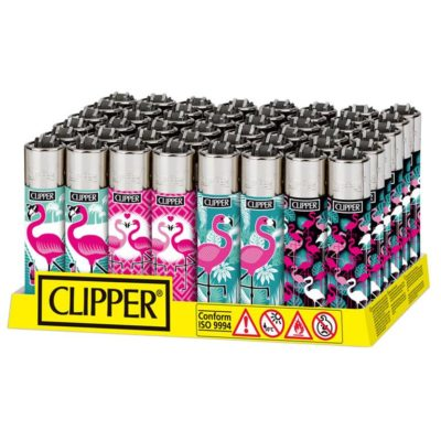 Clipper Classic Large Funny Flamingos
