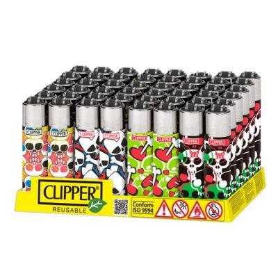 Clipper Classic Micro Skulls Print B-48