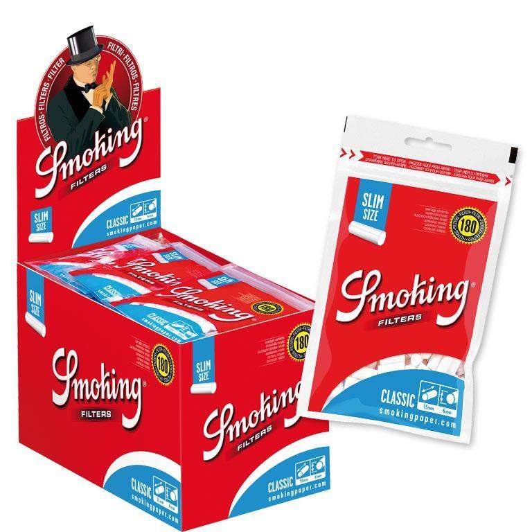 Filtro Smoking Classic Slim