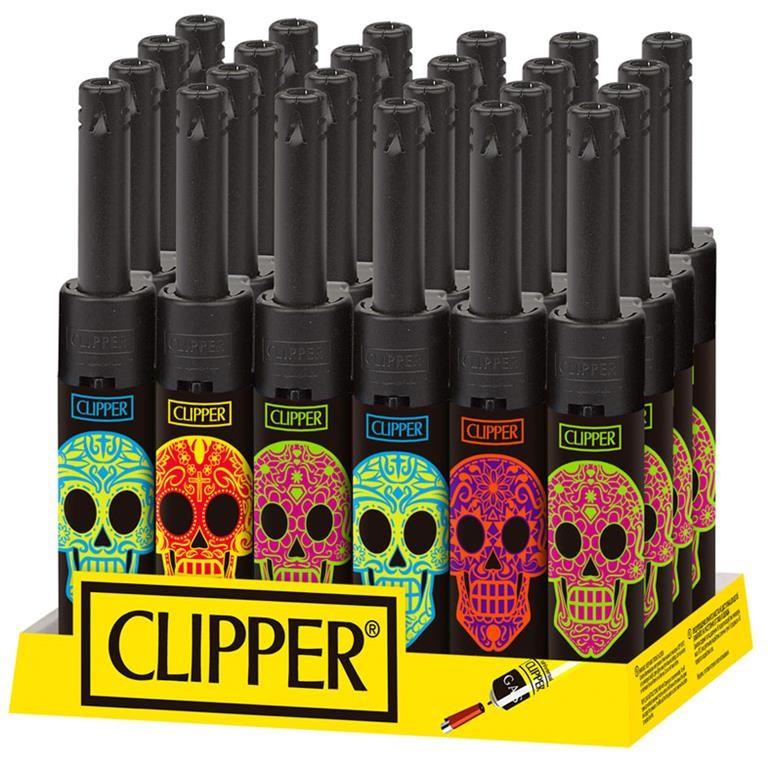 Clipper Classic Mini Tube Mexican Skulls Rocks D-24