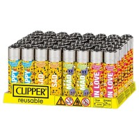 Clipper Classic Large Emoji Emotions B-48